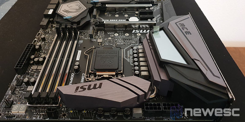 Review MSI Z390 ACE Diseño 3