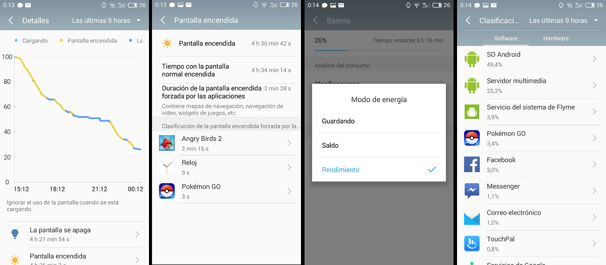 Review Meizu M3 Note bateria