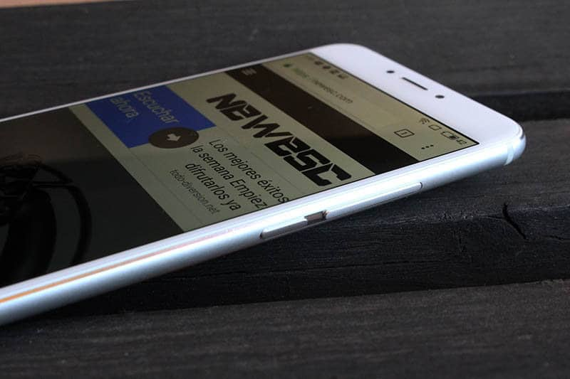Review Meizu MX6 NewEsc lateral botones