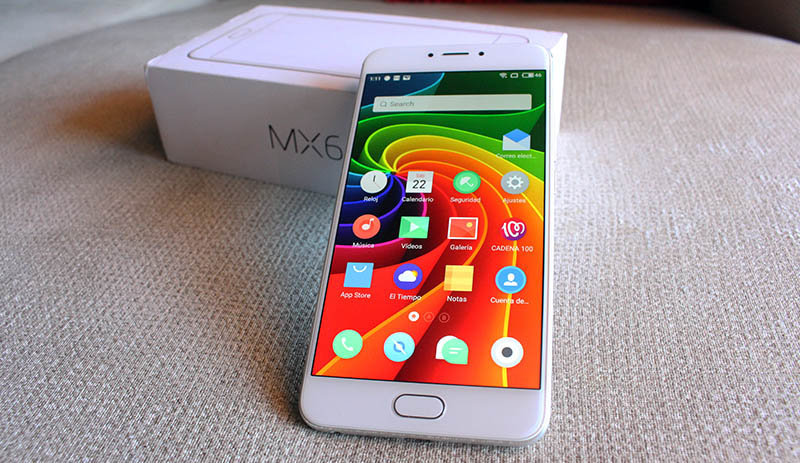 Review Meizu MX6 NewEsc vista