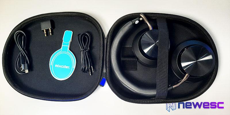 Review Mixcoder E10 caja y accesorios