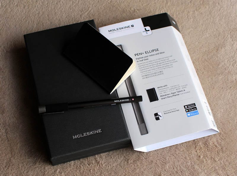 Review Moleskine Pen Ellipse NewEsc conjunto