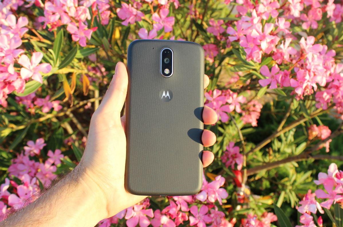 Review Moto G4 Plus carcasa trasera