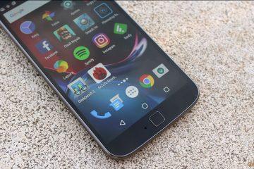Review Moto G4 Plus sensor de huellas