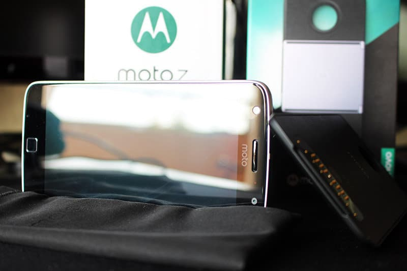 Review Moto Z Play NewEsc conjunto foto