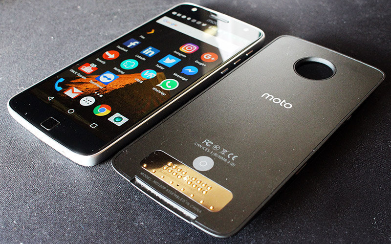 Review Moto Z Play NewEsc móvil y mod