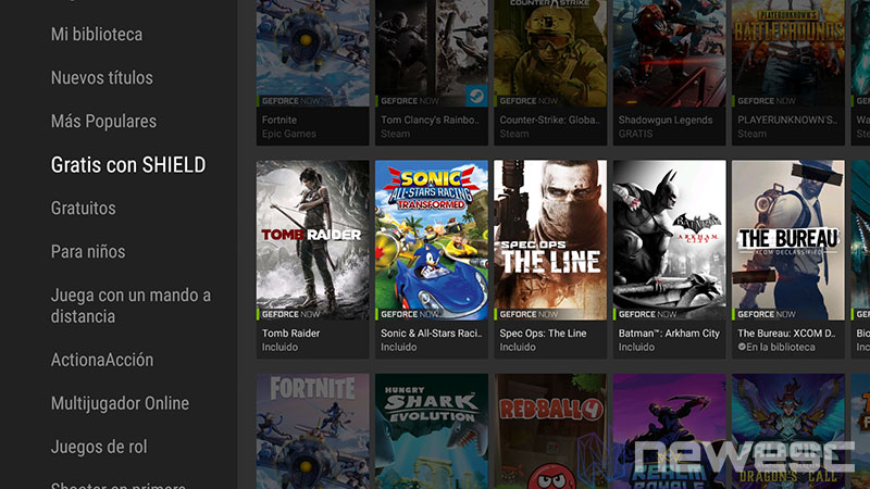 Review NVIDIA Shield TV 2017 Geforce Now