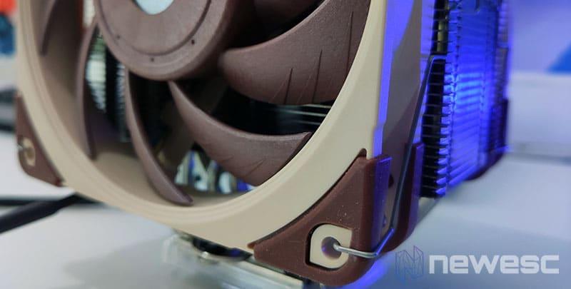 Review Noctua NH-U12A diseño del ventilador 2