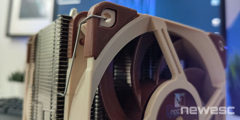 Review Noctua NH-U12A diseño del ventilador