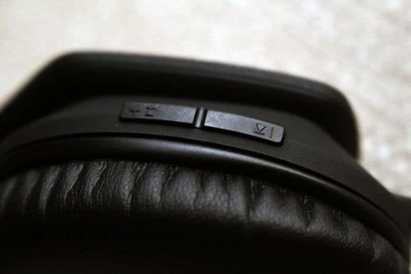 Review Noontec Zoro II Wireless NewEsc botones volumen