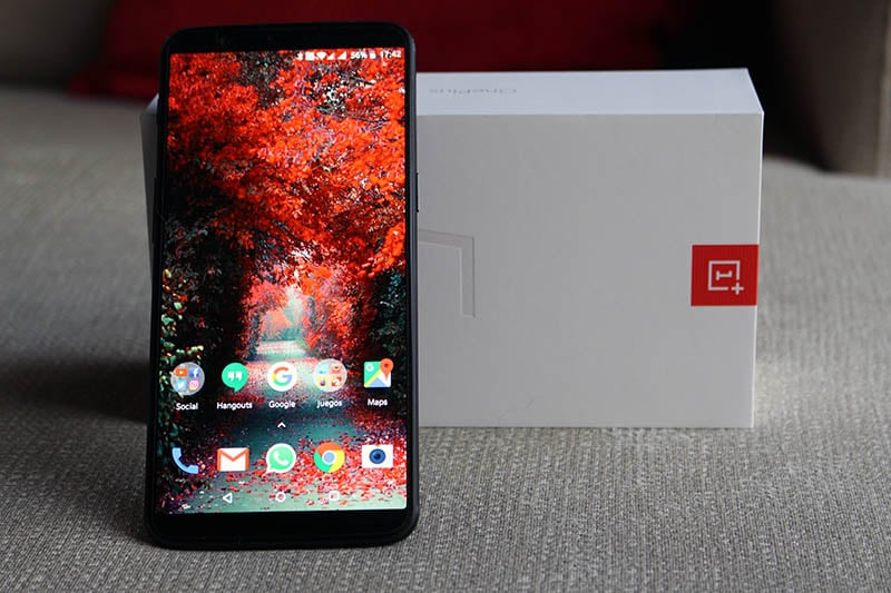 Review OnePlus 5T NewEsc frente
