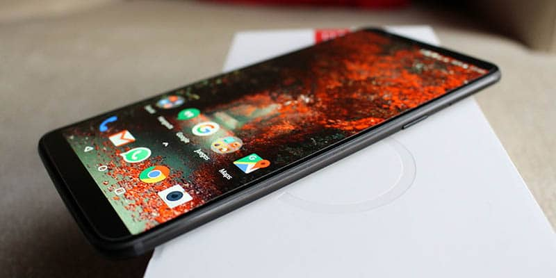 Review OnePlus 5T NewEsc perfil