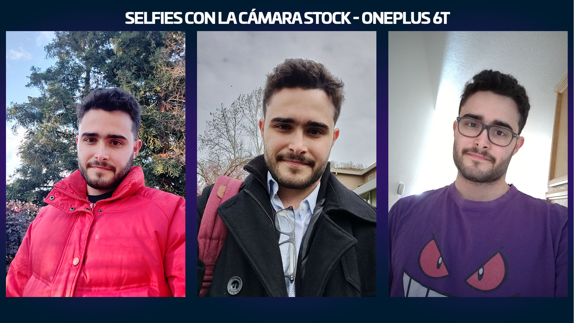 Review OnePlus 6T fotos Selfies