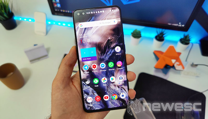 Review OnePlus Nord Frente
