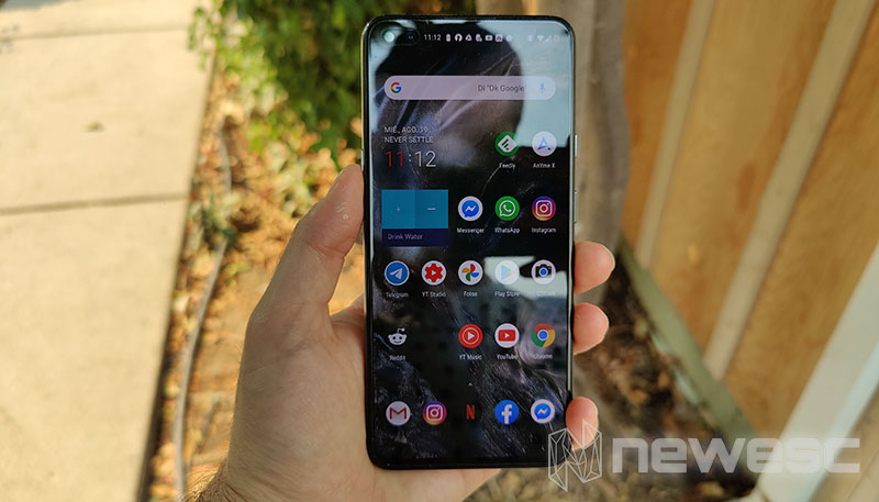 Review OnePlus Nord Pantalla