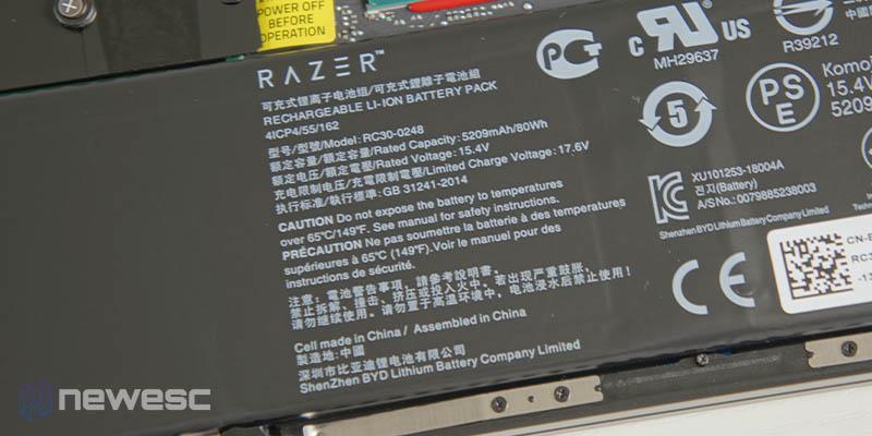 Review Razer Blade 15 Advanced 19