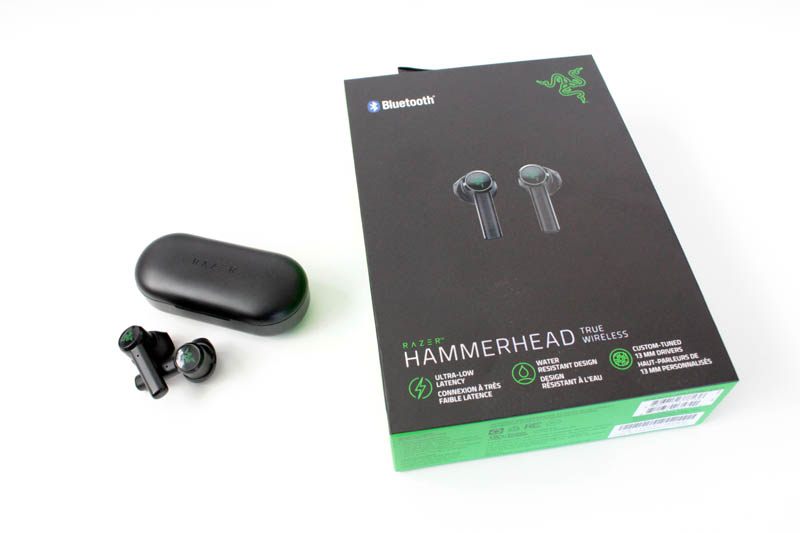 Review Razer Hammerhead True Wireless NewEsc caja