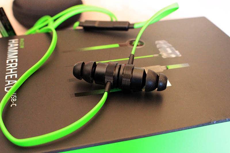 Review Razer Hammerhead USB-C NewEsc detalle