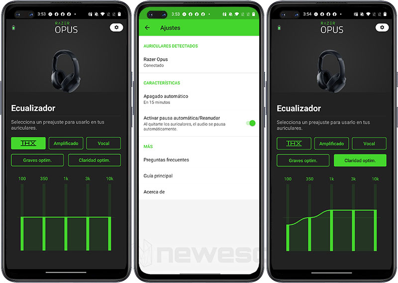 Review Razer Opus App
