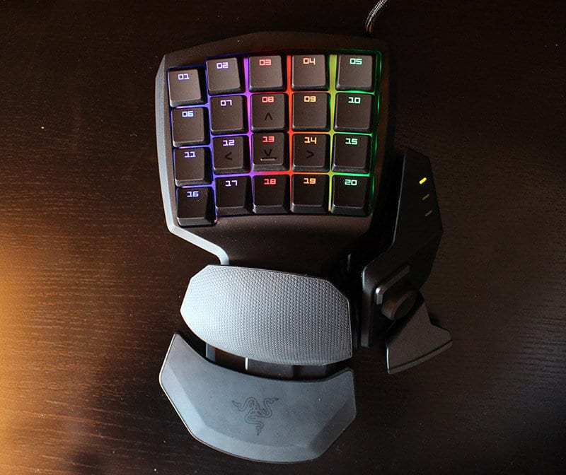 Review Razer Orbweaver NewEsc vista superior