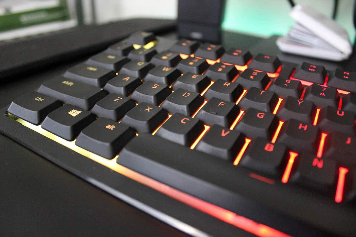 Review Razer Ornata Chroma tamaño