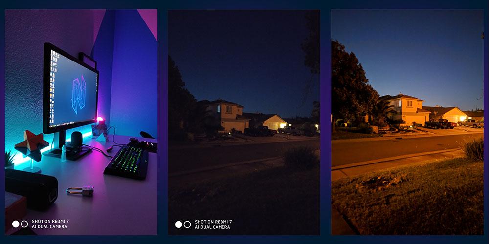 Review Redmi 7 - Fotos Nocturnas