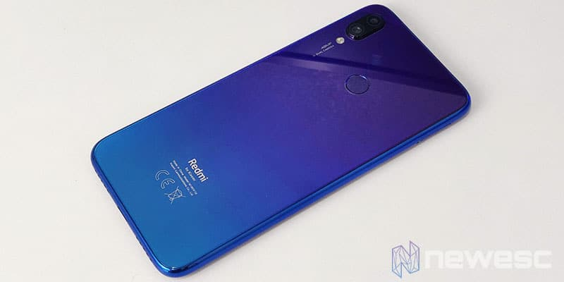 Review Redmi Note 7 Diseño