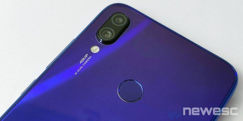 Review Redmi Note 7 cámara trasera