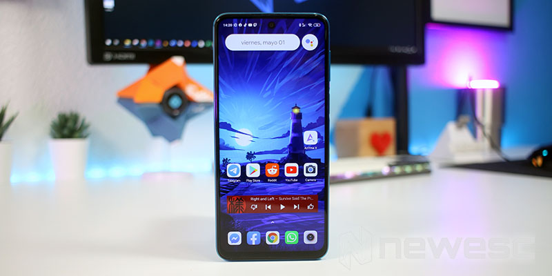 Review Redmi Note 9S diseño