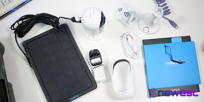 Review Reolink Targus 2 Accesorios