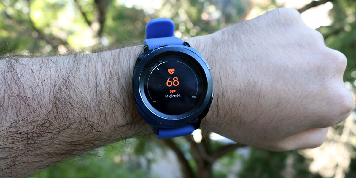 Review Samsung Gear Sport deporte