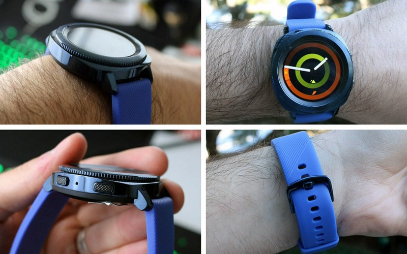 Review Samsung Gear Sport diseño