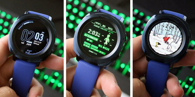Review Samsung Gear Sport esferas