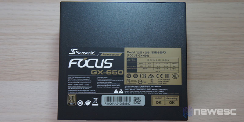 Review Seasonic GX 650 4