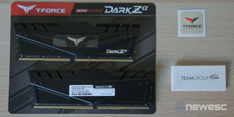 Review T Force 32GB 3600MHz 1