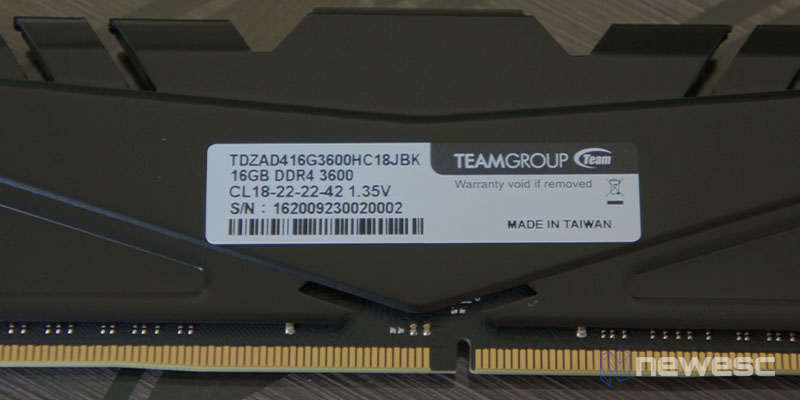 Review T Force 32GB 3600MHz 3