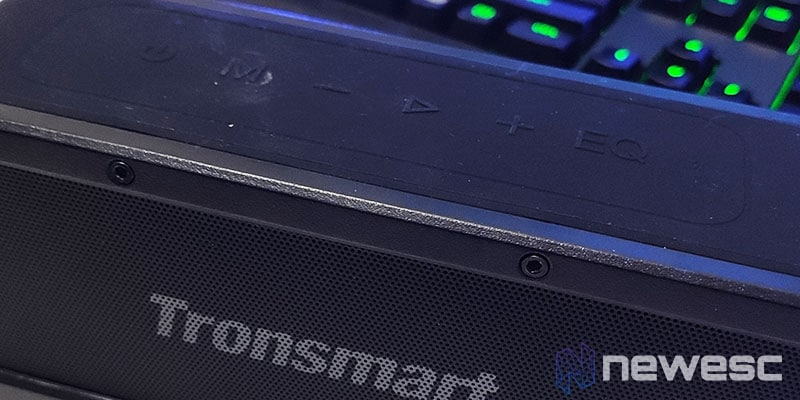 Review Tronsmart Element Force botones