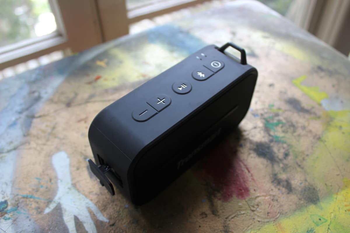 Review Tronsmart T2 botones