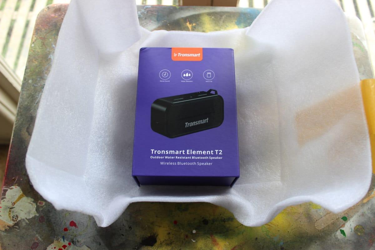 Review Tronsmart T2 embalaje