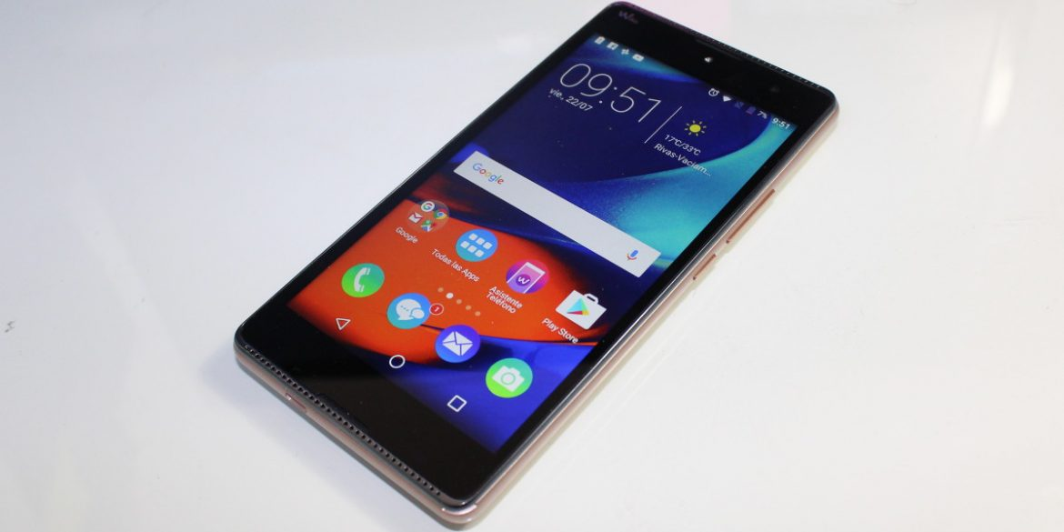 Review Wiko Robby wallpaper terminal