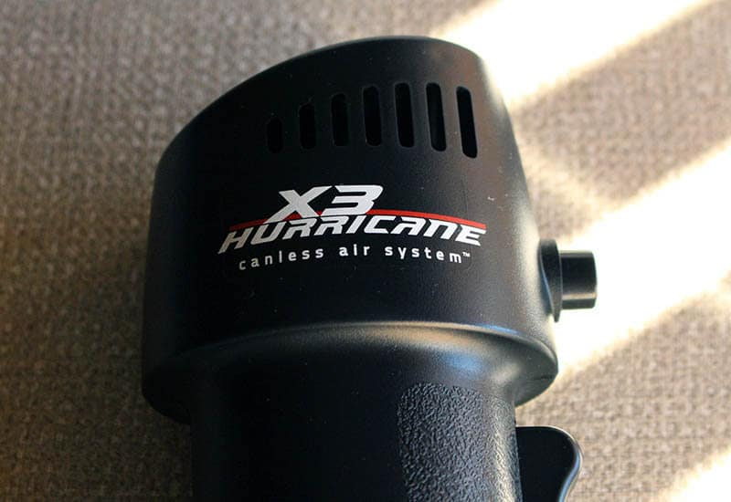Review X3 Hurricane NewEsc cabezal 2