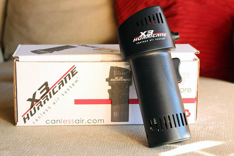 Review X3 Hurricane NewEsc con caja