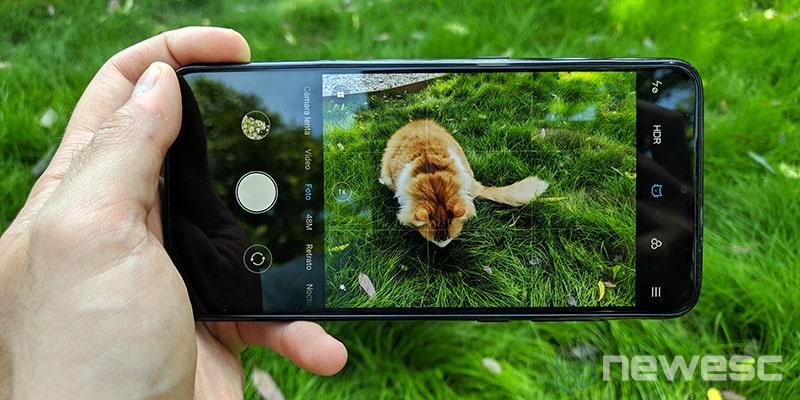 Review Xiaomi Mi 9 App de cámara