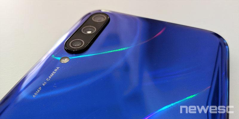 Review Xiaomi Mi A3 cámara trasera