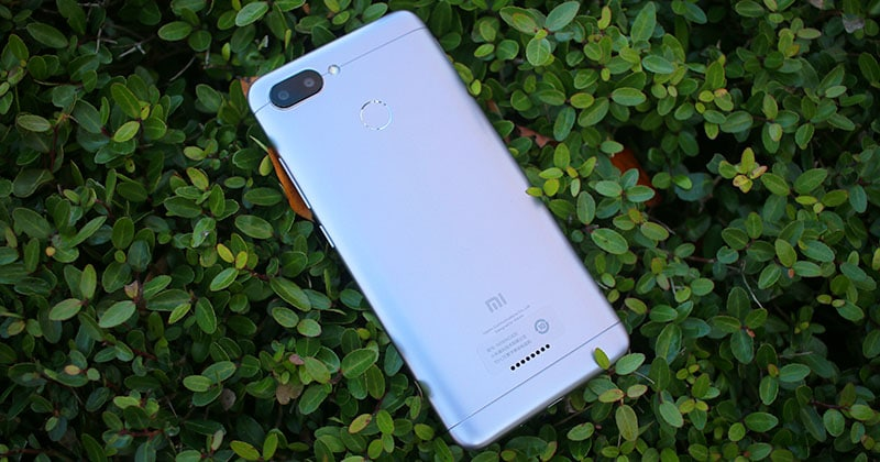 Review Xiaomi Redmi 6 carcasa trasera