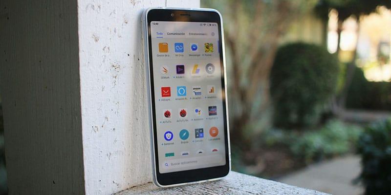 Review Xiaomi Redmi 6 diseño