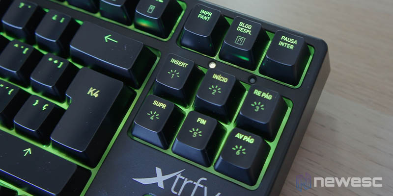 Review Xtrfy K4 RGB TKL 10