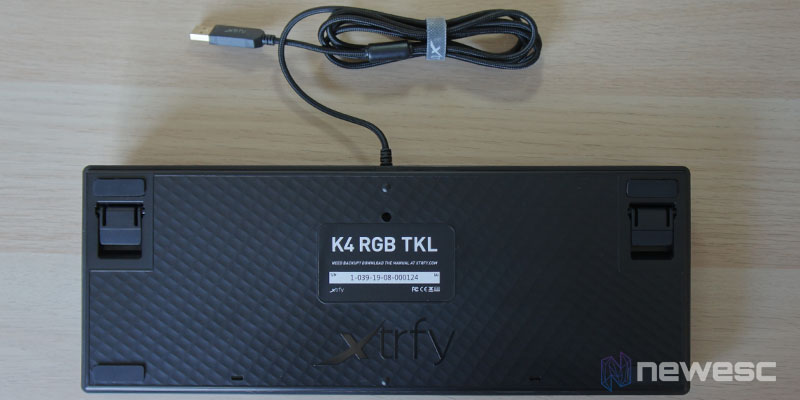 Review Xtrfy K4 RGB TKL 5