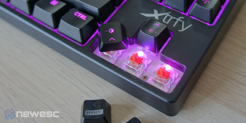 Review Xtrfy K4 RGB TKL 8