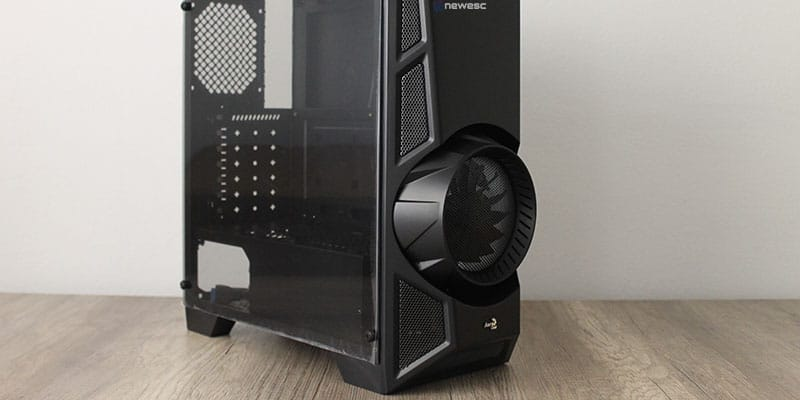 Review aerocool aeroengine chasis